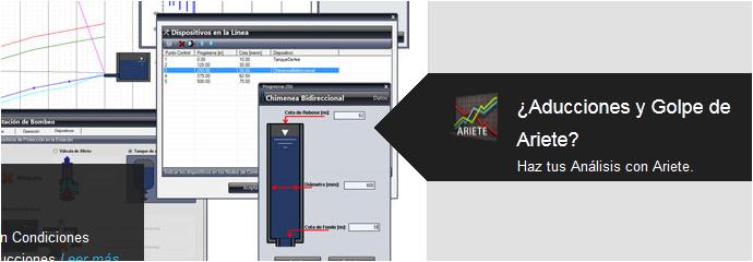 Ariete-El Programa para el Estudio del Golpe de Ariete en Tuberias
