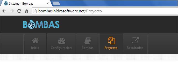 El-menu-proyecto-de-Bombas