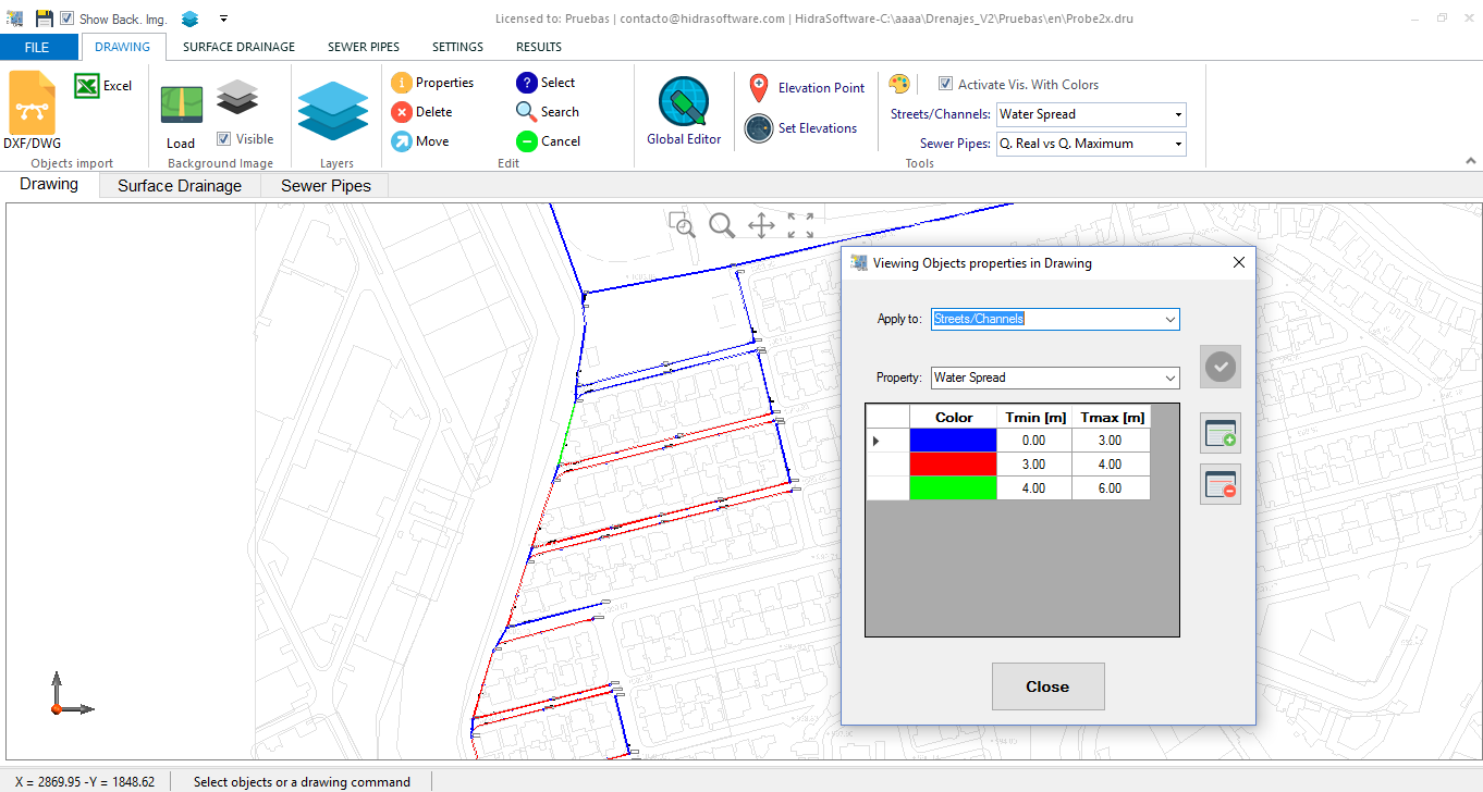 Storm Drainage Inlet Design With Dren Urba Hidrasoftware